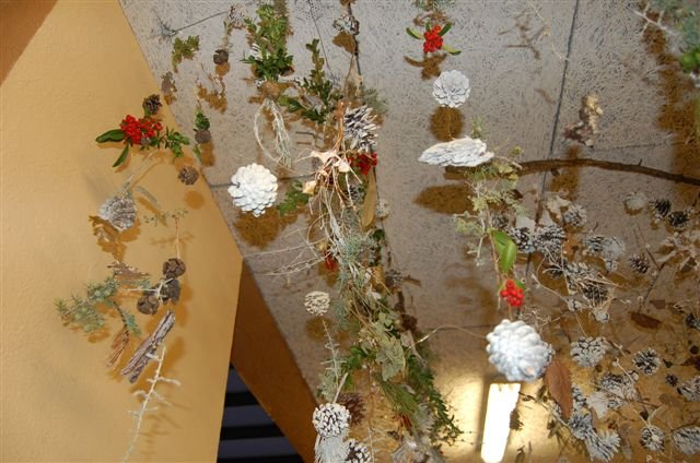 L cole de barjols d coration de no l dans l cole for Decoration fenetre noel ecole